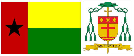 Guinea-Bissau flag and coat of arms