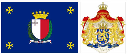 Micronesia flag and coat of arms