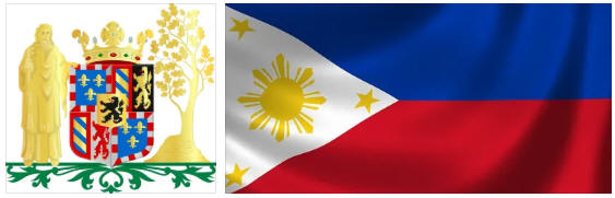 Philippines flag and coat of arms