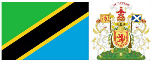 Tanzania flag and coat of arms